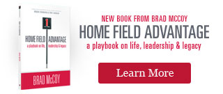Home Field Advantage - New Book from Brad McCoy